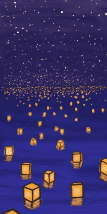 Funeral landscape