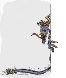 Character design, Nightmare